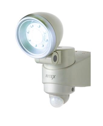 乾電池式 センサーライト LED-110